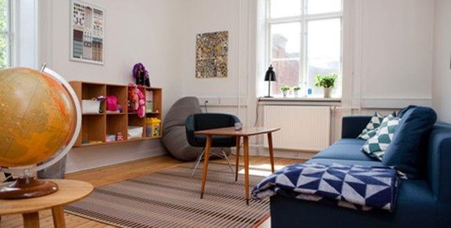 Et værelse i Børnehus hovedstaden