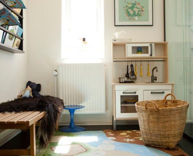 værelse med køkken legesæt